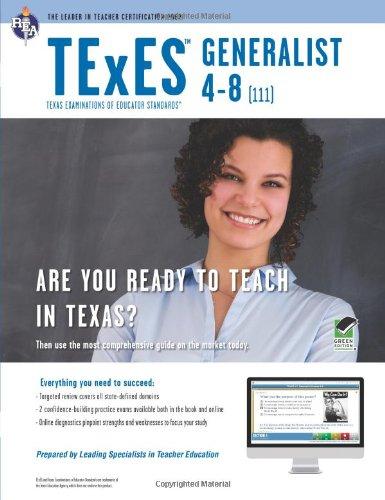 9780738610351: TExES Generalist 4-8 (111) Book + Online (TExES ...