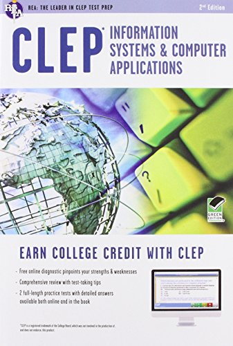 9780738610368: CLEP® Information Systems & Computer Applications Book + Online (CLEP Test Preparation)