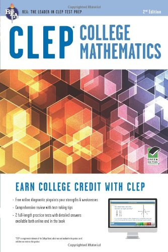 9780738610467: CLEP® College Mathematics Book + Online (CLEP Test Preparation)