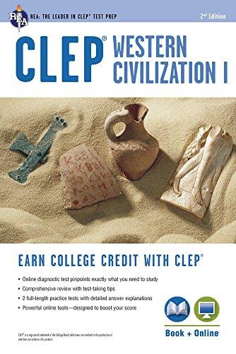 9780738610481: CLEP(R) Western Civilization I Book + Online (REA Test Preps)