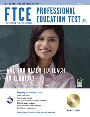 9780738610566: FTCE Professional Ed Test (083) w/CD ROM (FTCE Teacher Certification Test Prep)