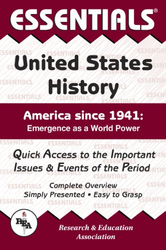 9780738610801: United States History Since 1941 Essentials (Essentials Study Guides)