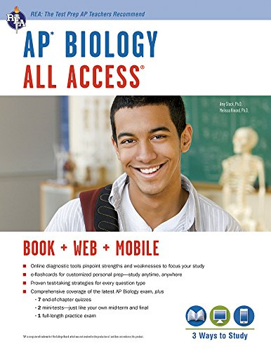9780738610818: AP® Biology All Access Book + Online + Mobile (Advanced Placement (AP) All Access)
