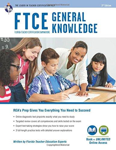 9780738610870: FTCE General Knowledge Book + Online (FTCE Teacher Certification Test Prep)