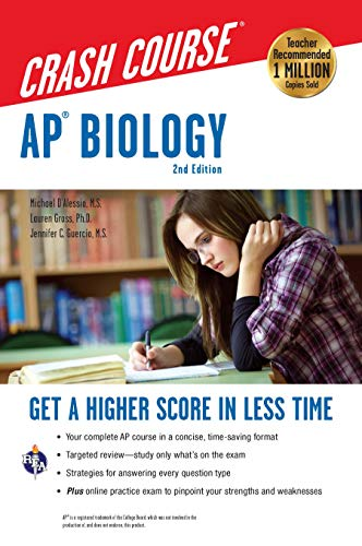 AP® Biology Crash Course Book + Online (Advanced Placement (AP) Crash Course) (0738610992) by Michael D'Alessio; Lauren Gross; Jennifer Guercio