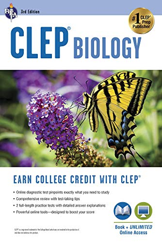 CLEP® Biology Book + Online (CLEP Test Preparation) (0738611026) by Callihan, Laurie Ann; CLEP