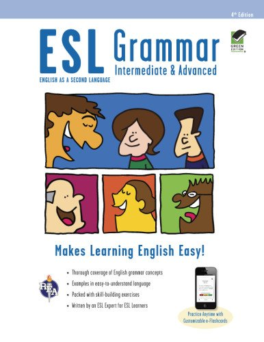 9780738611099: ESL Grammar: Intermediate & Advanced Premium Edition with E-Flashcards (English as a Second Language)