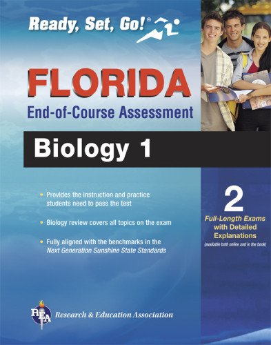 9780738611112: Florida Biology 1 End-of-Course Assessment Book + Online (Florida FCAT & End-of-Course Test Prep)