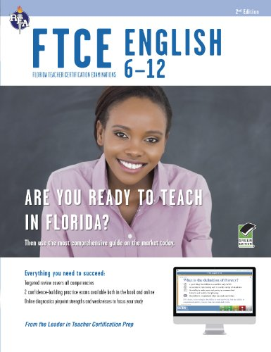 9780738611143: FTCE English 6-12 Book + Online (FTCE Teacher Certification Test Prep)