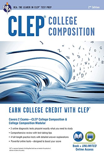 9780738611334: CLEP® College Composition 2nd Ed., Book + Online (CLEP Test Preparation)
