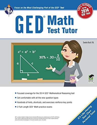 9780738611365: GED® Math Test Tutor, For the 2014 GED® Test (GED® Test Preparation)