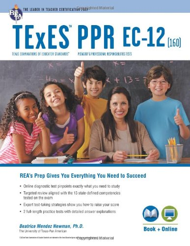 9780738611426: TExES PPR EC-12 (160) Book + Online (TExES Teacher ...