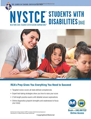 9780738611457: NYSTCE Students with Disabilities (060) Book + Online (NYSTCE Teacher Certification Test Prep)