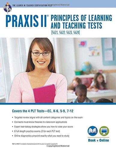 9780738611464: PRAXIS® PLT EC, K-6, 5-9 and 7-12: Book + Online (PRAXIS Teacher Certification Test Prep)