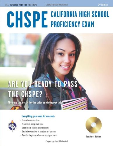 9780738611563: California High School Proficiency Exam (CHSPE) w/CD (California (CHSPE) Test Preparation)