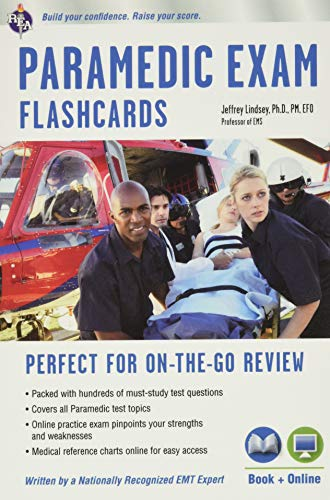 9780738611778: Paramedic Flashcard Book + Online (EMT Test Preparation)