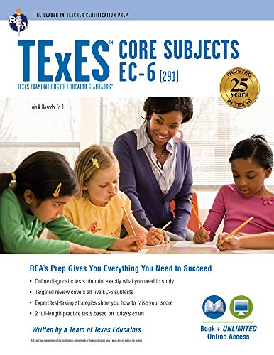 9780738611983: Texes Core Subjects EC-6 (291) Book + Online (Texes Teacher Certification Test Prep)