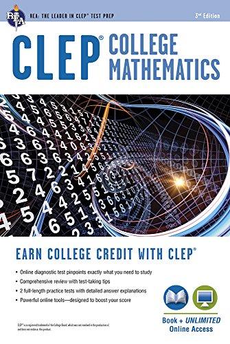 9780738612058: CLEP(R) College Mathematics Book + Online (Clep Test Preparation)
