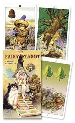 9780738700069: The Fairy Tarot Deck [With 16 Page Fold-Out Instruction Sheet]