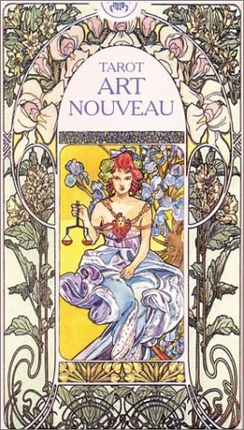 9780738700083: Tarot Art Nouveau (English and Spanish Edition)
