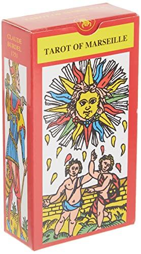 9780738700113: Tarot of Marseille (Lo Scarabeo Decks)