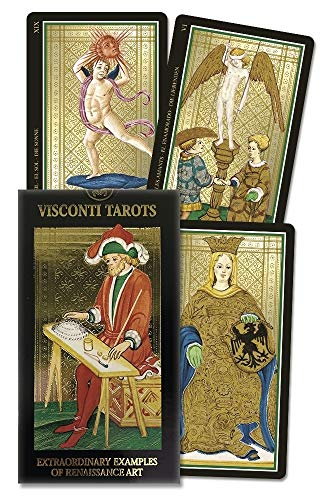 9780738700199: Visconti Tarots deck