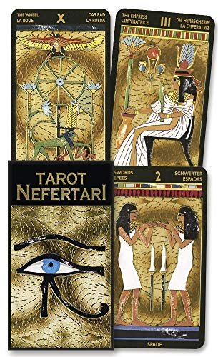 9780738700205: Nefertari's Tarots: 78 Cards with Instructions