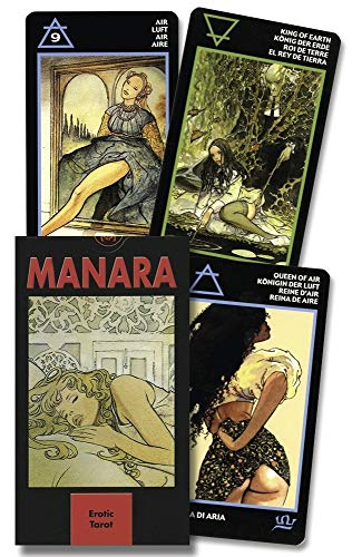 9780738700229: Erotic Tarot of Manara