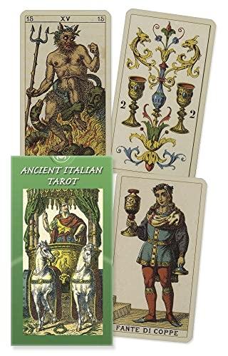 9780738700267: Ancient Italian Tarots (Lo Scarabeo Decks)