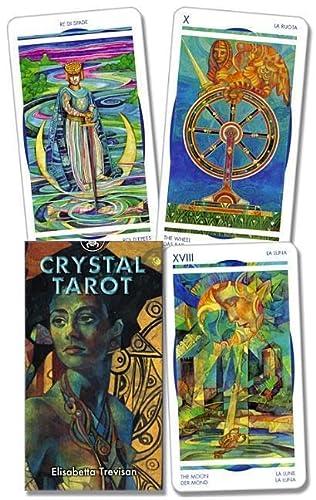 9780738700588: Crystal Tarot (Tarot Card Deck)