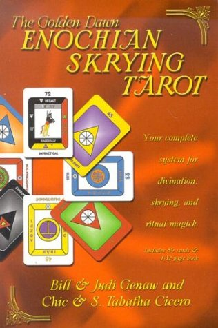 9780738702018: The The Golden Dawn Enochian Skrying Tarot