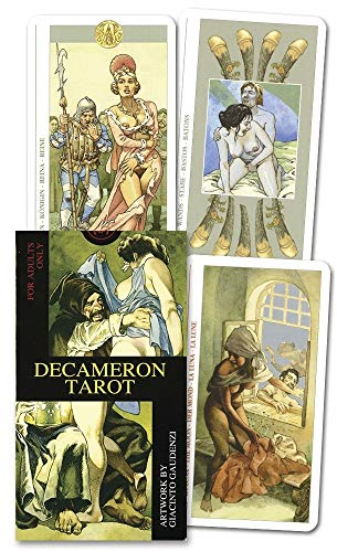 9780738702407: Decameron Tarot Deck: Boxed 78-Card Set [With Instruction Booklet] [With Instruction Booklet]