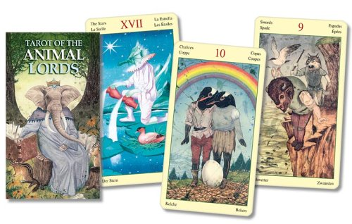 9780738704470: Tarot of the Animal Lords (English and Spanish Edition)
