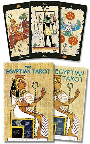 9780738704487: The Egyptian Tarot kit