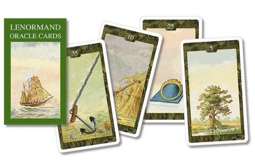 9780738704517: Lenormand Oracle Cards