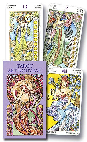9780738704562: Tarot Art Nouveau Mini