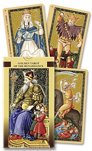 9780738704616: Golden Tarot of The Renaissance/Tarot Dorado Del Renacimiento