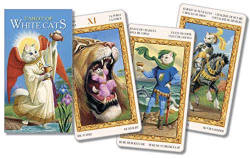 9780738704630: Tarot of White Cats/Tarot de Los Gatos Blancos