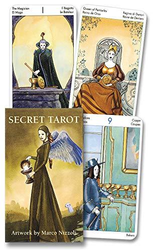 9780738706023: Mini Secret Tarot/Tarot Secreto/Das Tarot Der Geheimnisse/Le Tarot Des Secrets