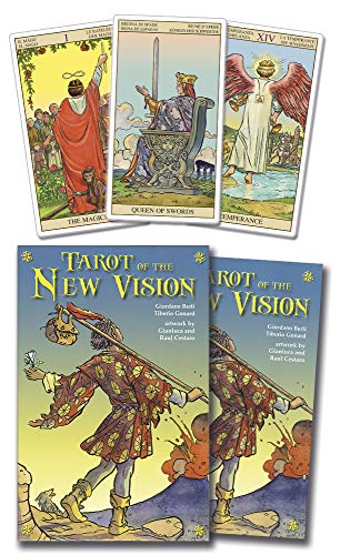 9780738707068: Tarot of the New Vision Kit (Lo Scarabeo Kits)