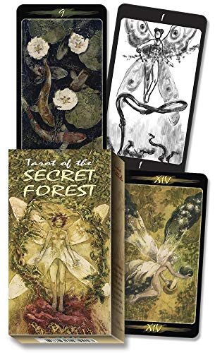 9780738707631: Tarot of the Secret Forest (English and Spanish Edition)
