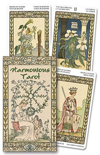 9780738707884: Harmonious Tarot (Lo Scarabeo Decks)