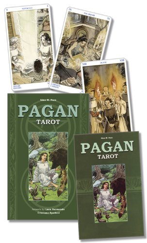 9780738708461: Pagan Tarot Cards Kit