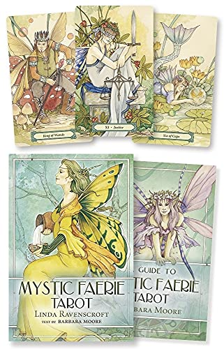 9780738709215: A Guide to Mystic Faerie Tarot