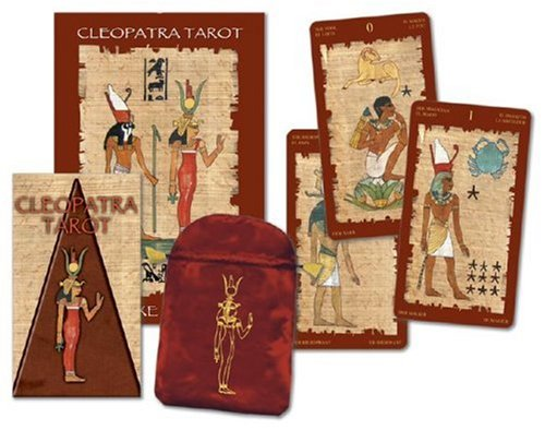 9780738709406: Tarot of Cleopatra Deluxe (English and Spanish Edition)