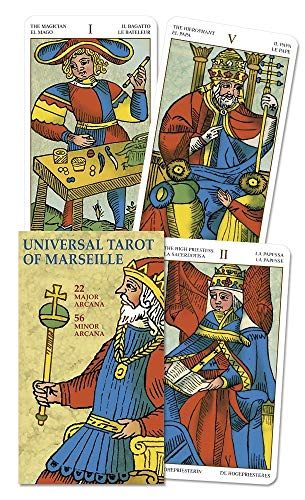 9780738709505: Universal Tarot of Marseille (English and Spanish Edition)
