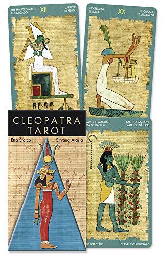 9780738709512: Cleopatra Tarot (English and Spanish Edition)