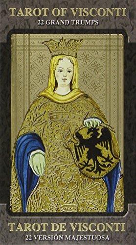 9780738709536: Golden Tarot of Visconti Grand Trumps