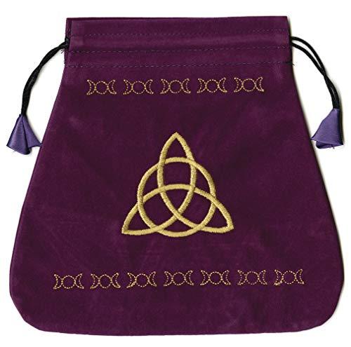 9780738709680: Triple Goddess Velvet Tarot Bag (Bolsas de Lo Scarabeo Tarot Bags From Lo Scarabeo)