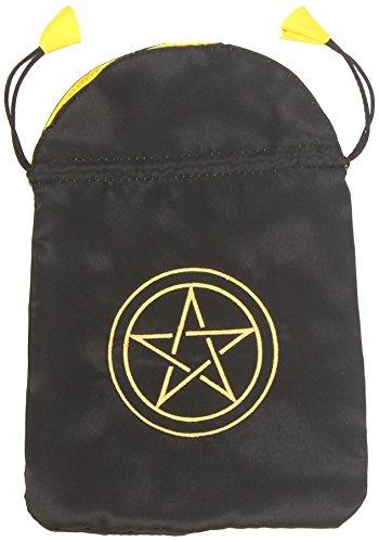 9780738709727: Pentacle Satin Bag